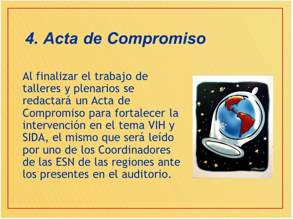 4. Acta de Compromiso