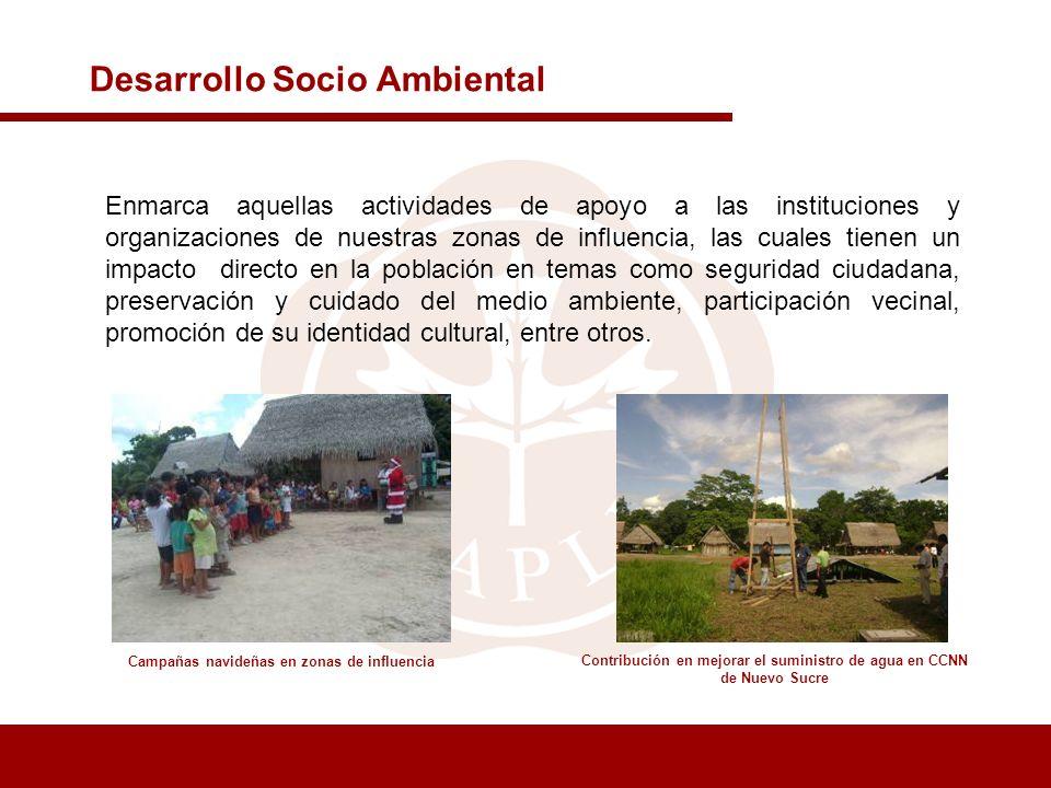 Desarrollo Socio Ambiental