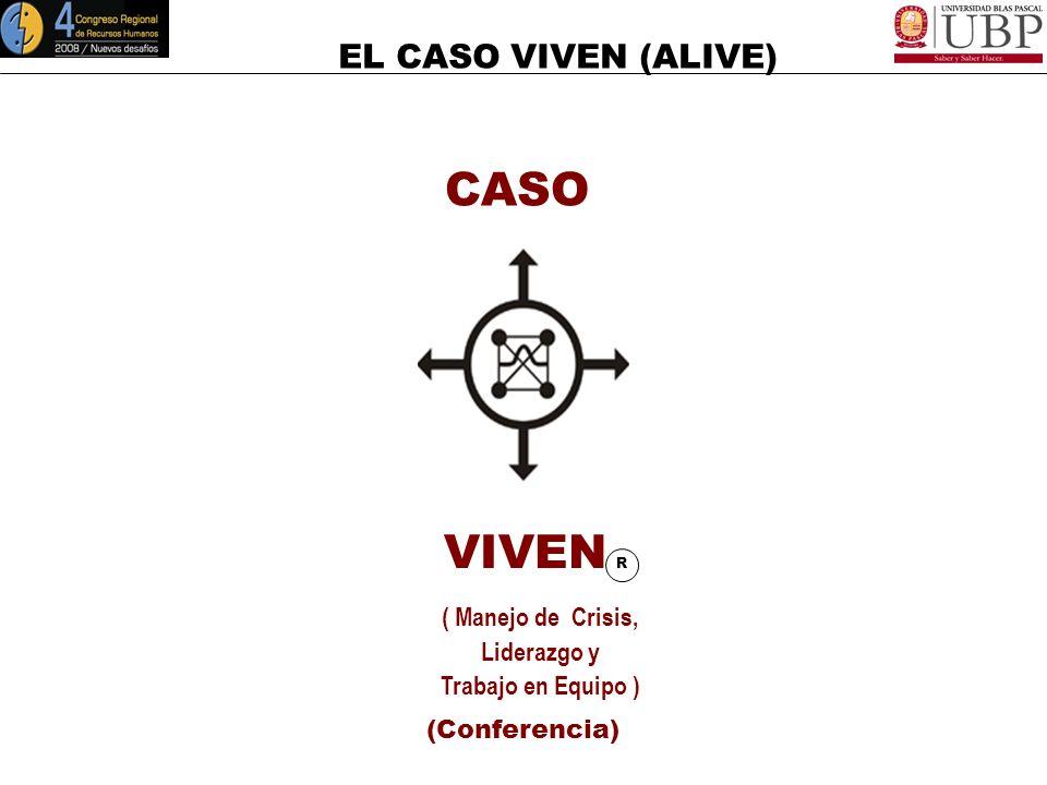 CASO VIVEN R ( Manejo de Crisis, Liderazgo y Trabajo en Equipo )