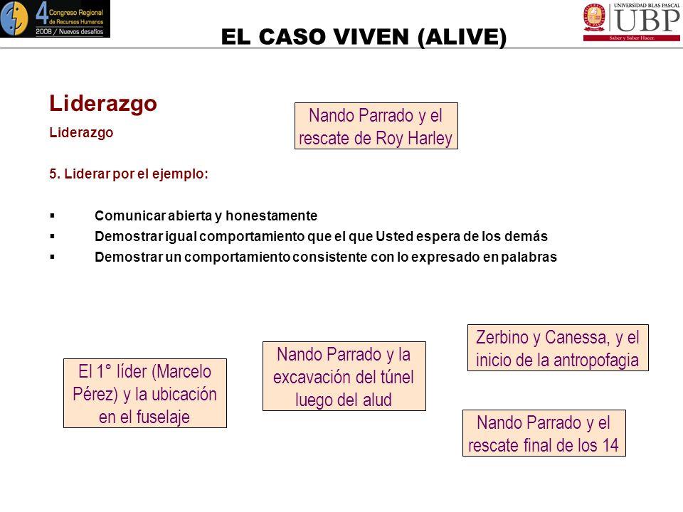Liderazgo Nando Parrado y el rescate de Roy Harley