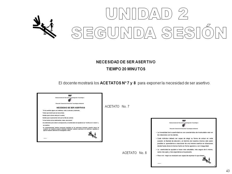 NECESIDAD DE SER ASERTIVO