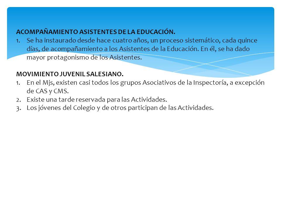 ACOMPAÑAMIENTO ASISTENTES DE LA EDUCACIÓN.