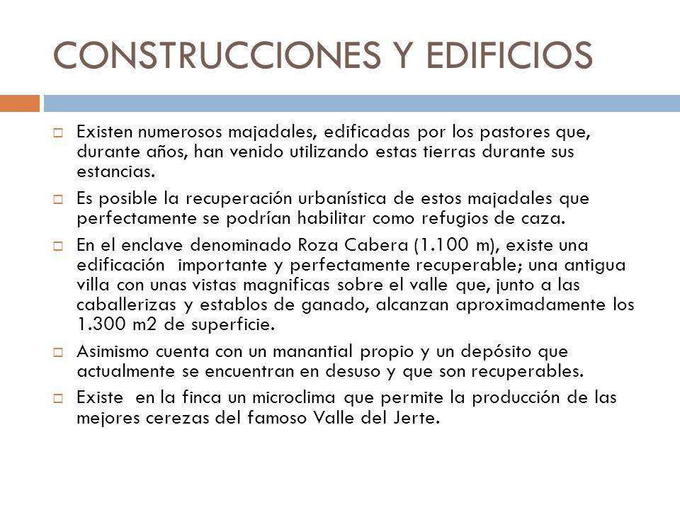 CONSTRUCCIONES Y EDIFICIOS