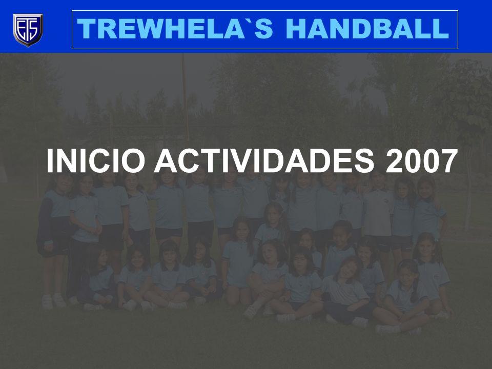 INICIO ACTIVIDADES 2007