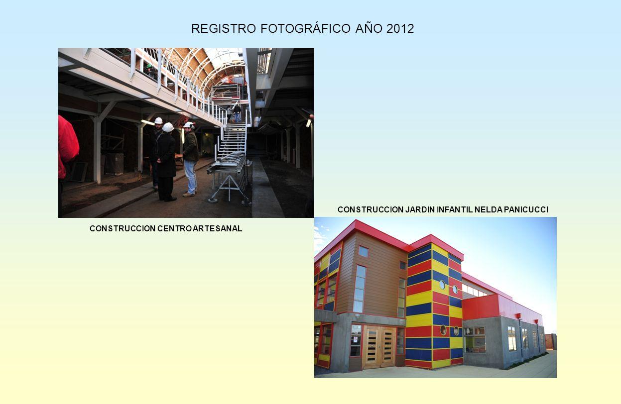 REGISTRO FOTOGRÁFICO AÑO 2012