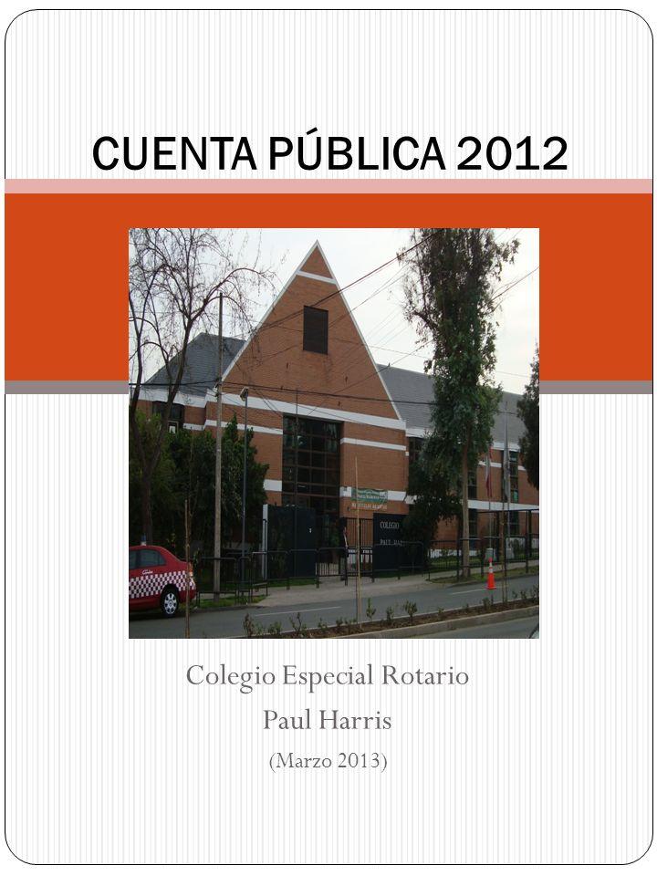 Colegio Especial Rotario Paul Harris (Marzo 2013)