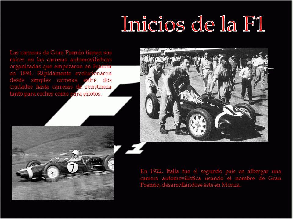 Inicios de la F1