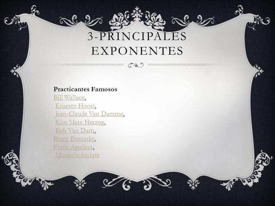 3-Principales exponentes