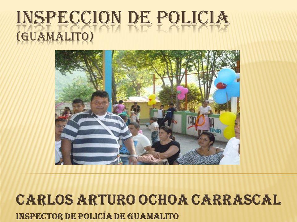 INSPECCION DE POLICIA (GUAMALITO)