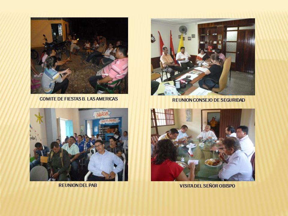 COMITE DE FIESTAS B. LAS AMERICAS