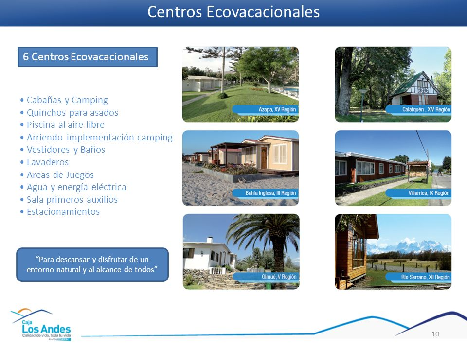 Centros Ecovacacionales