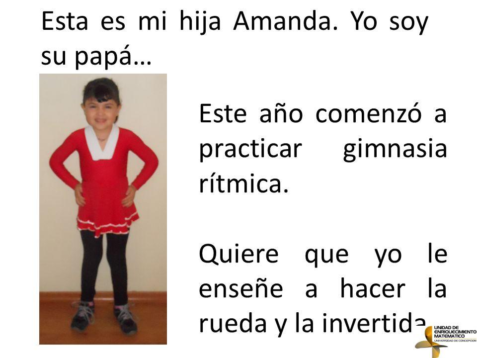 Esta es mi hija Amanda. Yo soy su papá…