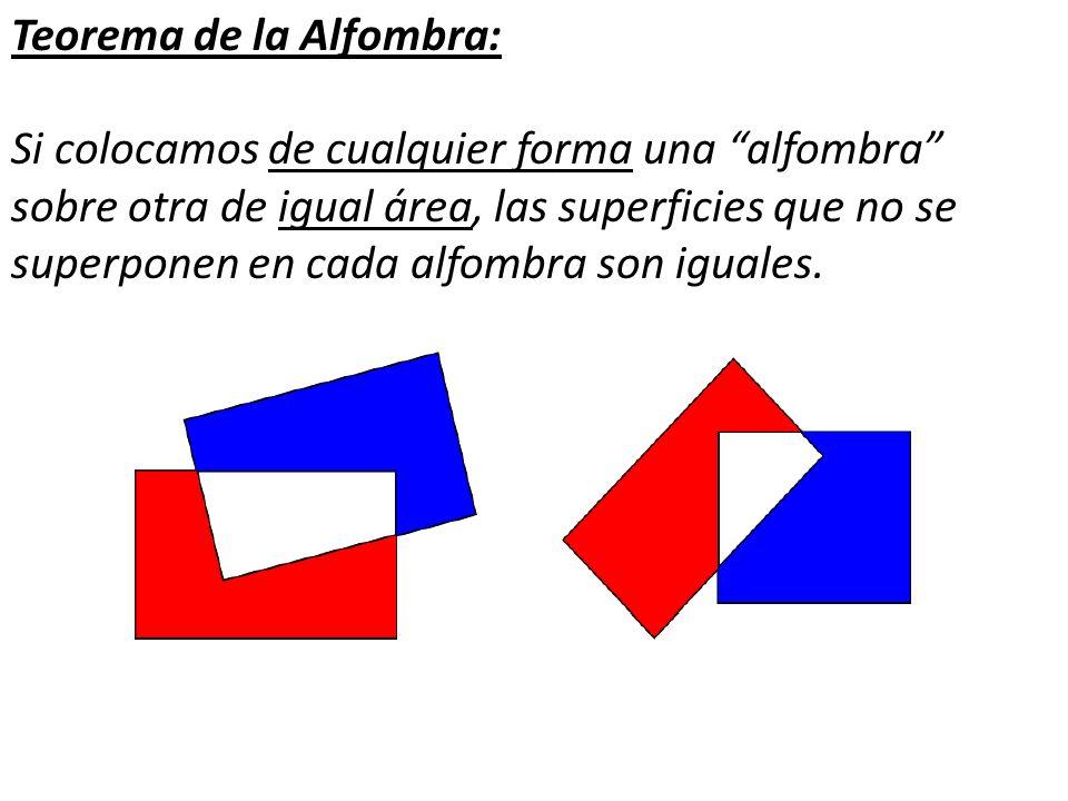 Teorema de la Alfombra: