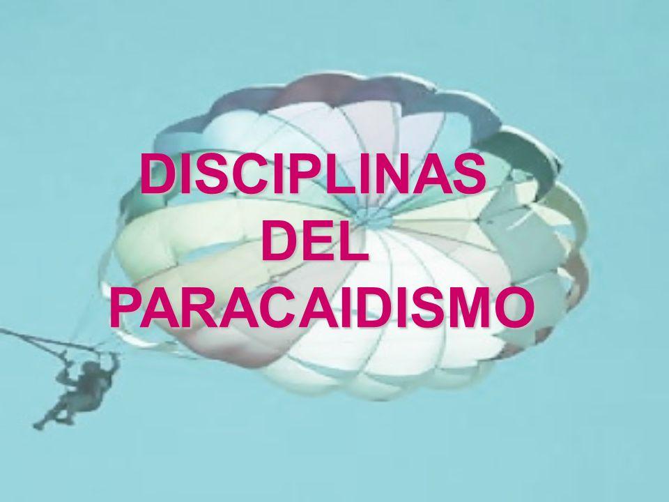 DISCIPLINAS DEL PARACAIDISMO