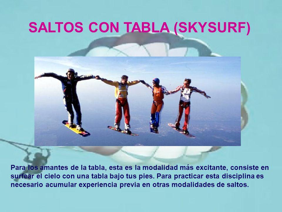 SALTOS CON TABLA (SKYSURF)