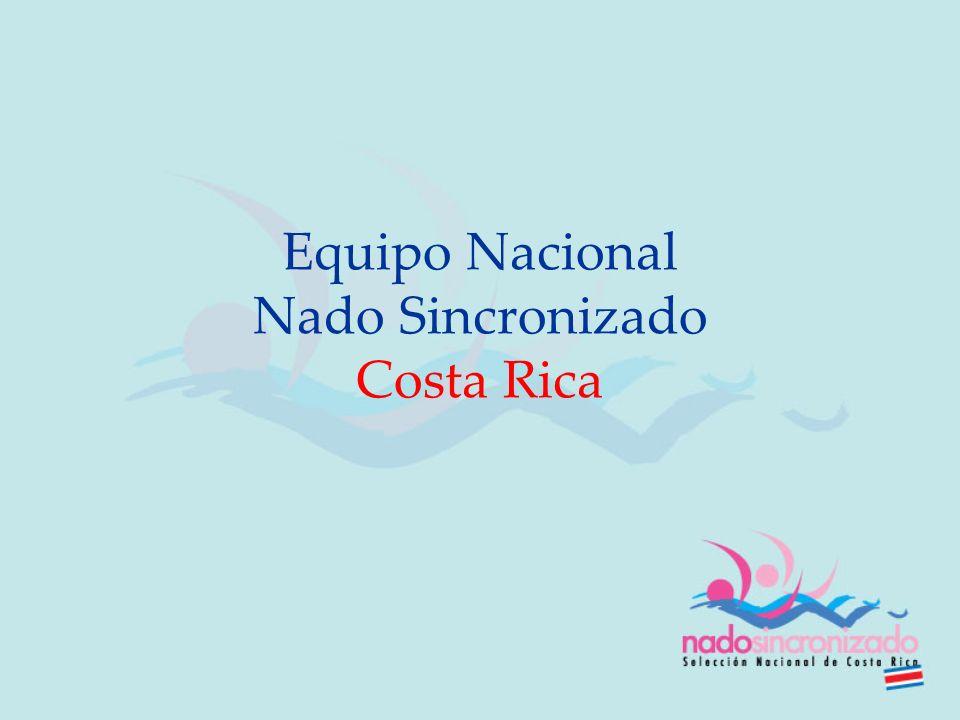 Equipo Nacional Nado Sincronizado Costa Rica