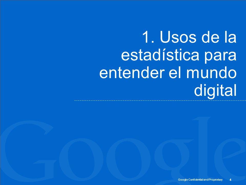 1. Usos de la estadística para entender el mundo digital