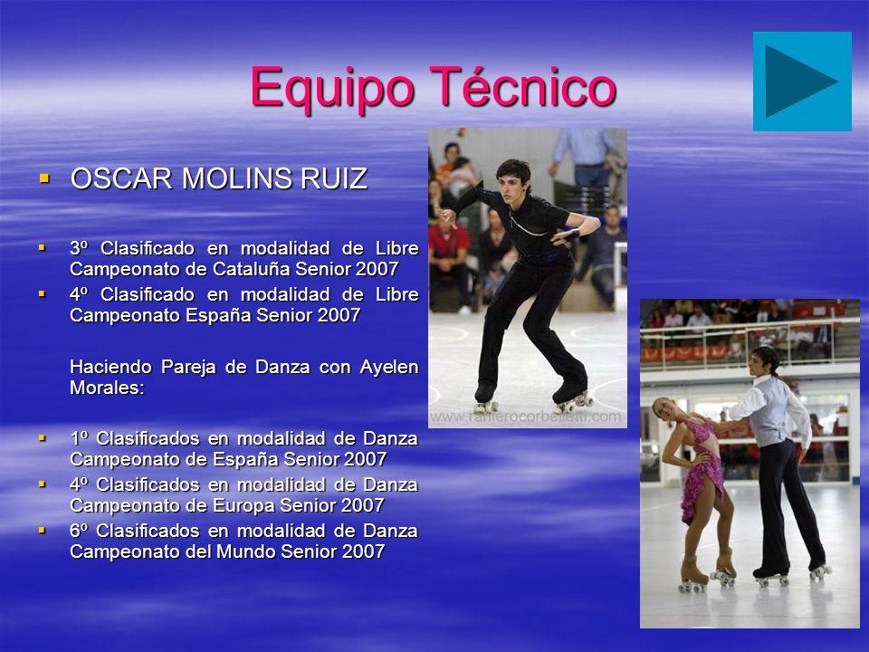 Equipo Técnico OSCAR MOLINS RUIZ