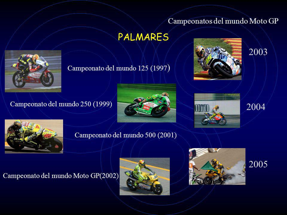 Campeonatos del mundo Moto GP