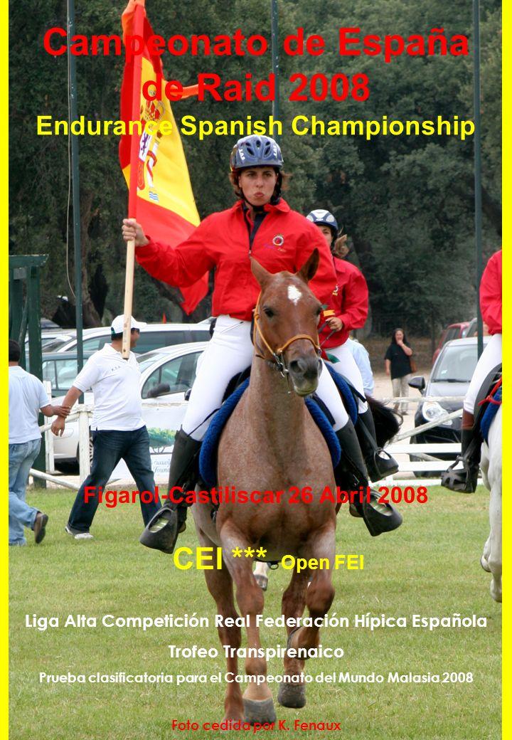 Campeonato de España de Raid 2008 Endurance Spanish Championship