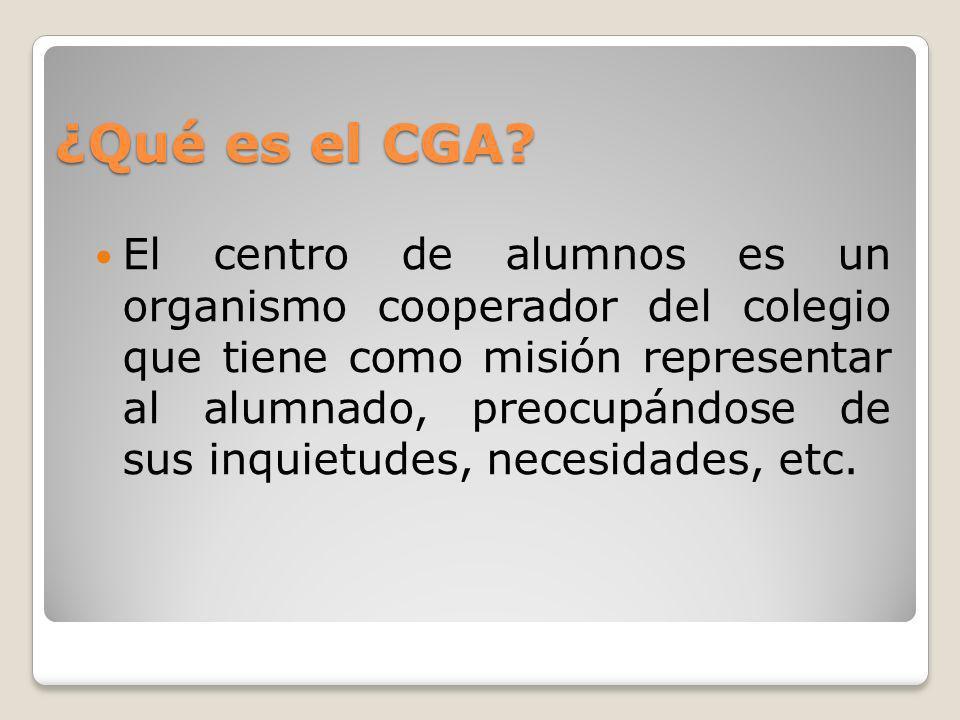 ¿Qué es el CGA