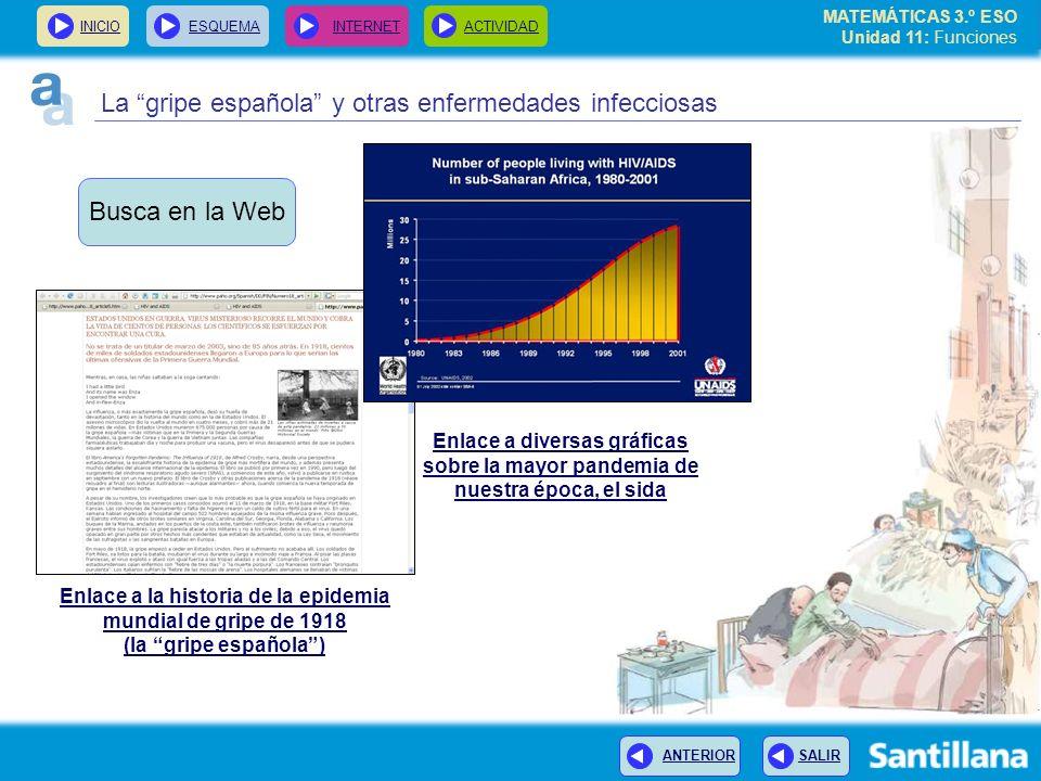 La gripe española y otras enfermedades infecciosas