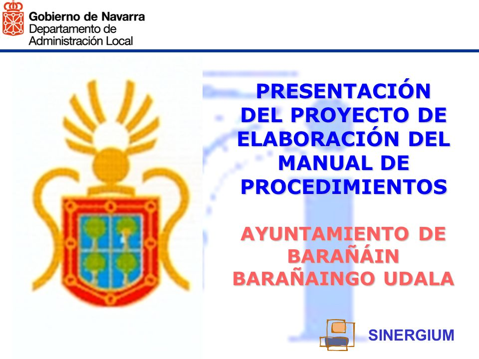 PRESENTACIÓN DEL PROYECTO DE