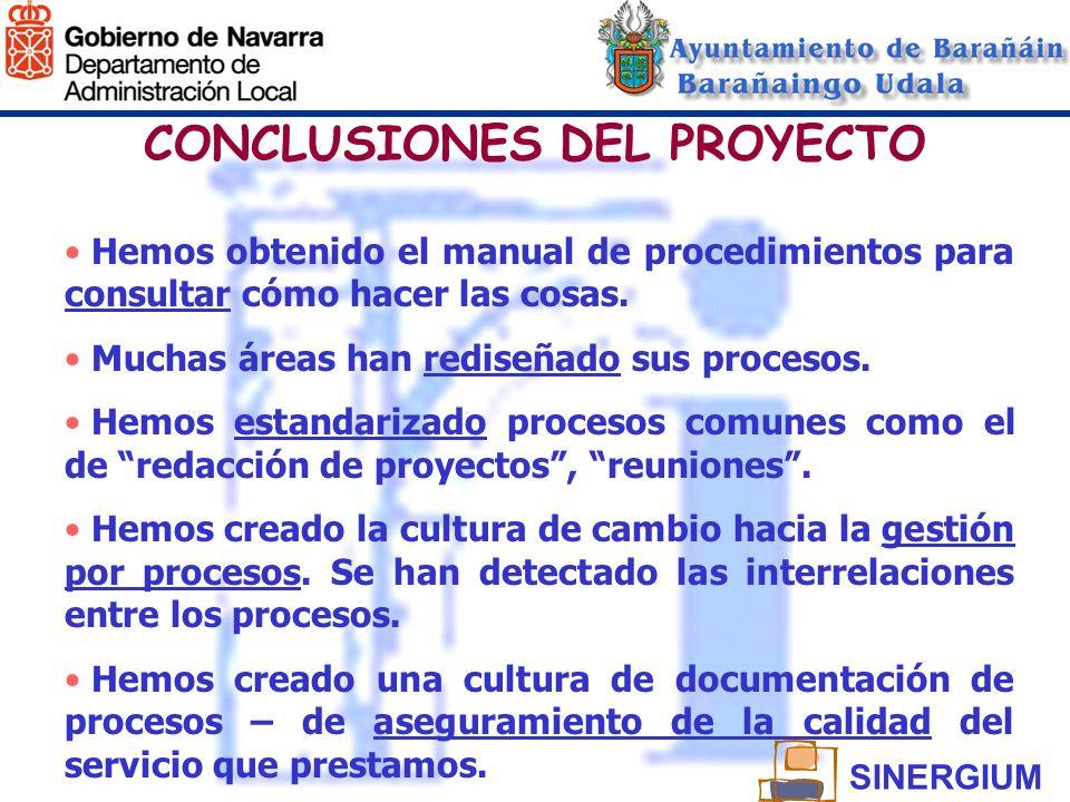 CONCLUSIONES DEL PROYECTO