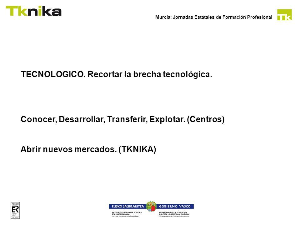 TECNOLOGICO. Recortar la brecha tecnológica.