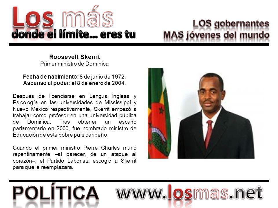 Primer ministro de Dominica