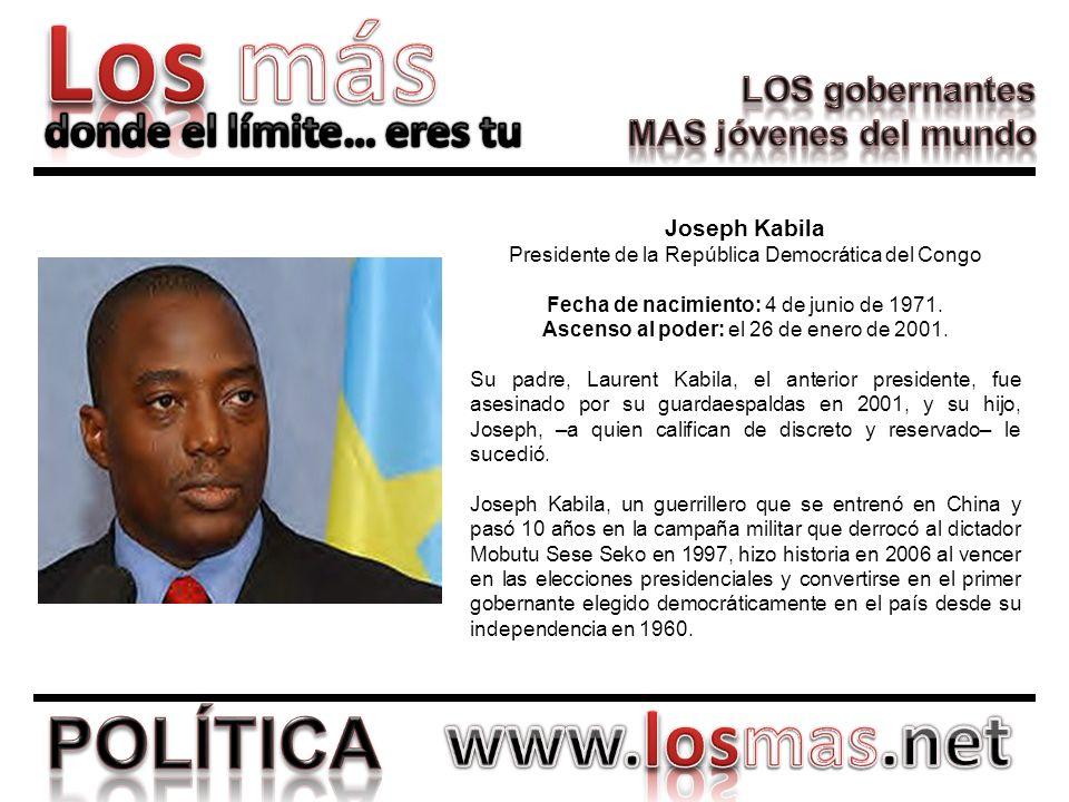 Presidente de la República Democrática del Congo