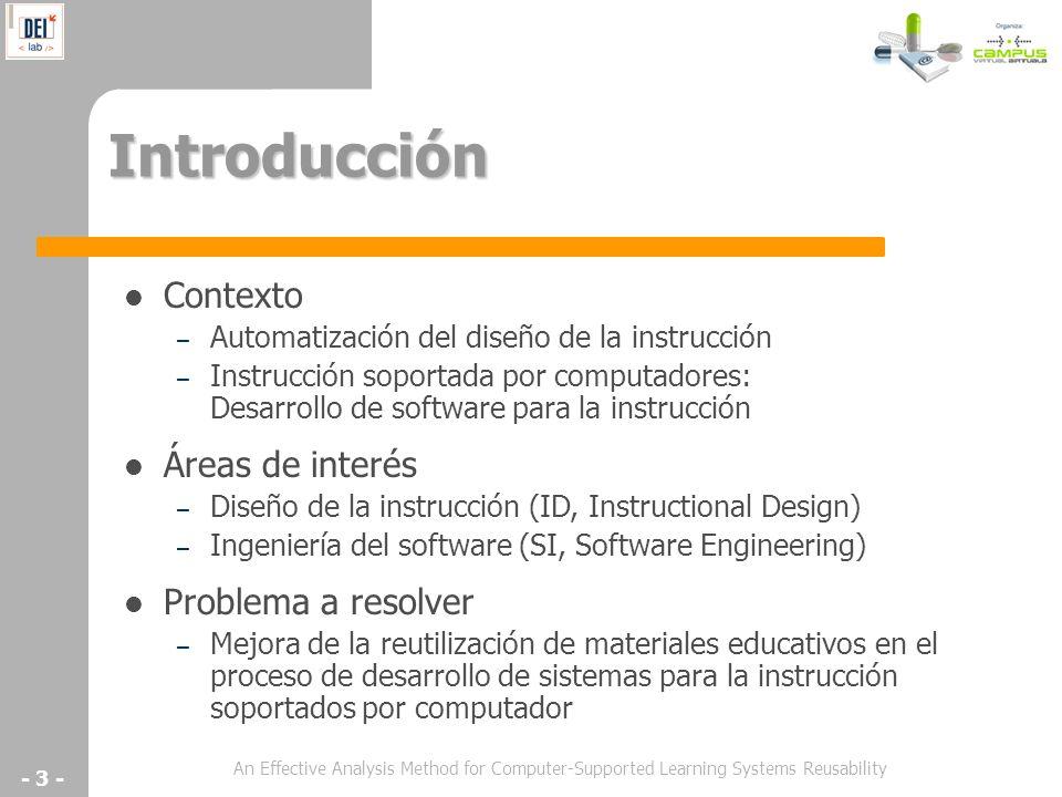 Introducción Contexto Áreas de interés Problema a resolver