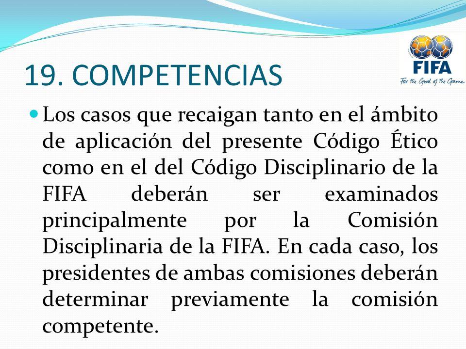 19. COMPETENCIAS