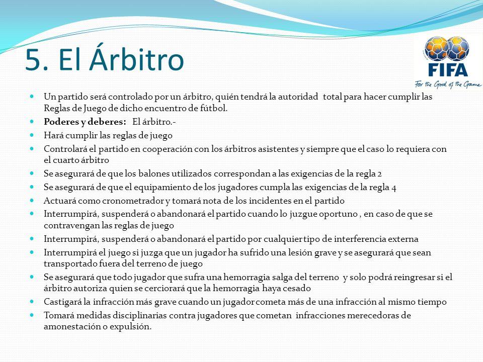 5. El Árbitro