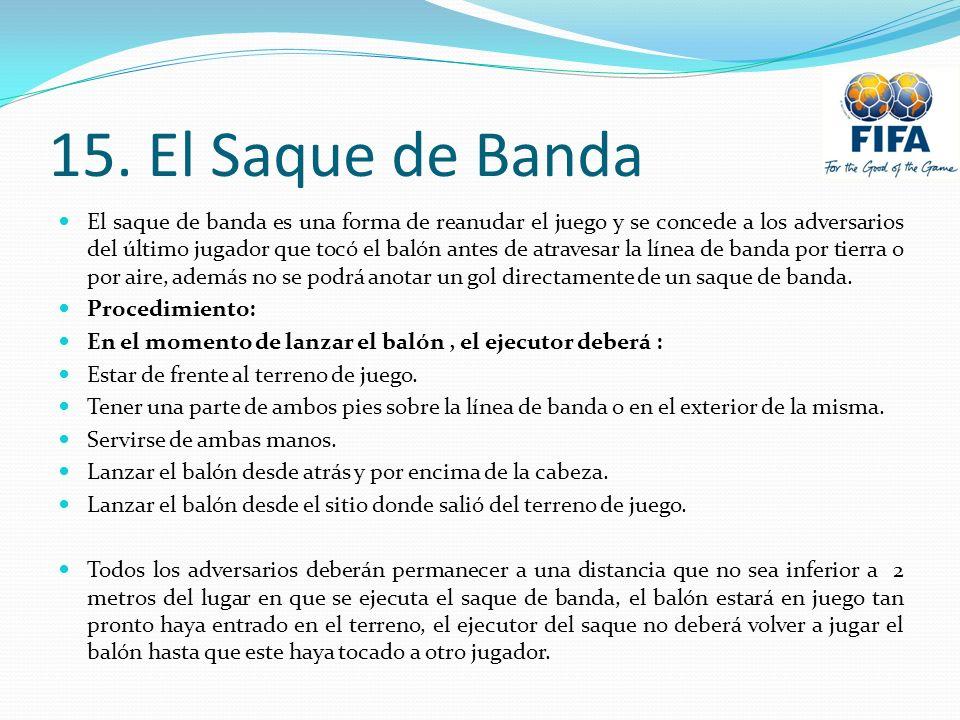 15. El Saque de Banda