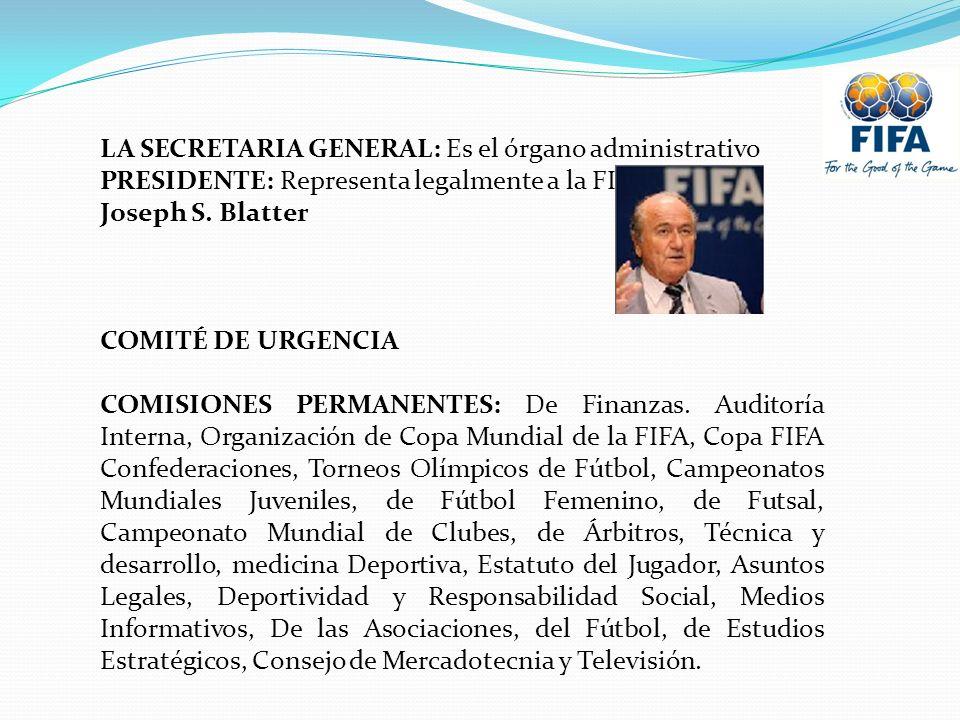 LA SECRETARIA GENERAL: Es el órgano administrativo
