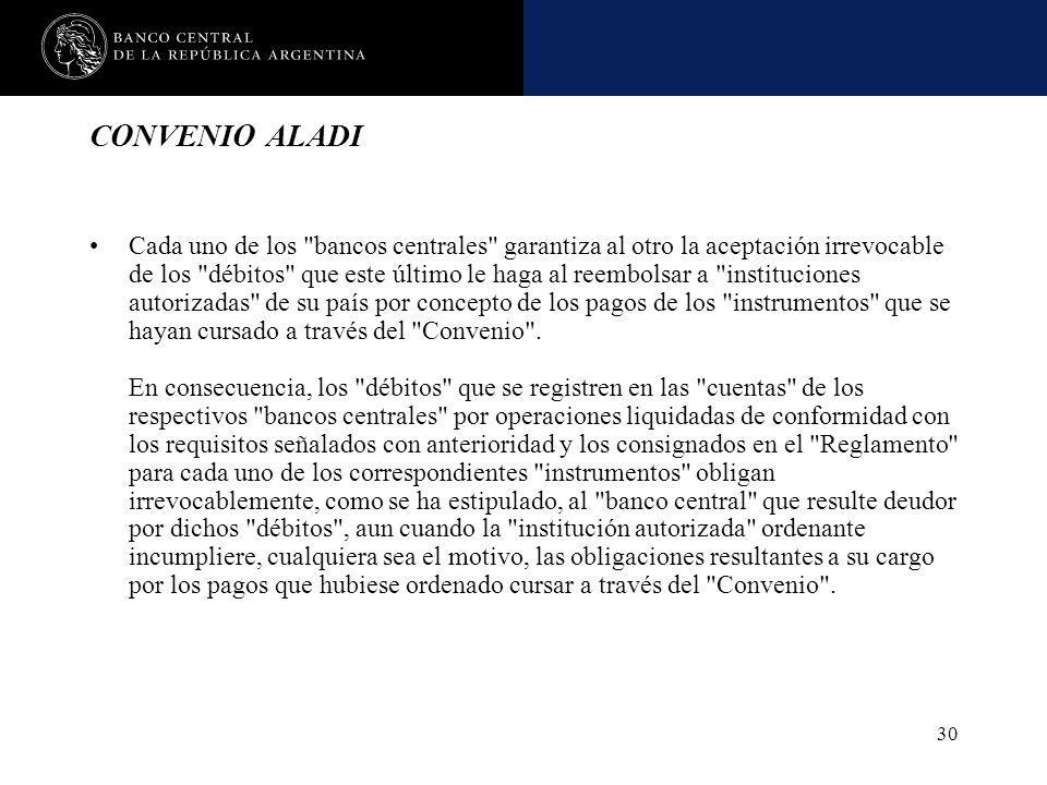CONVENIO ALADI