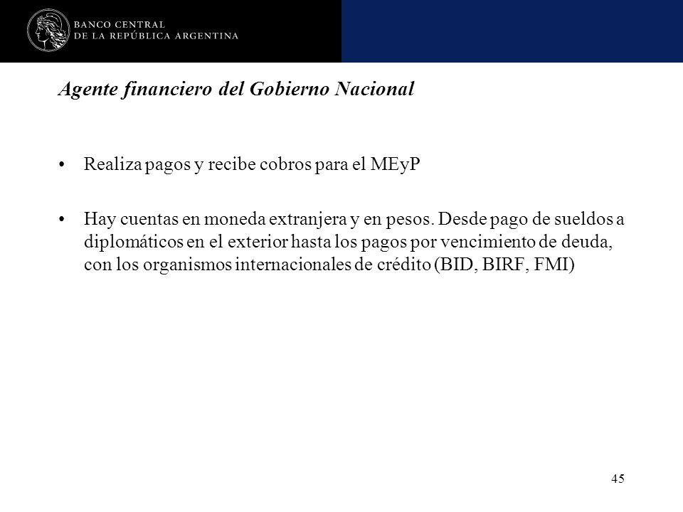 Agente financiero del Gobierno Nacional
