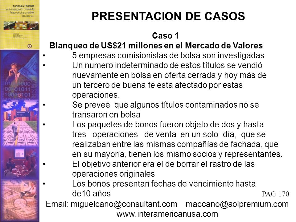 PRESENTACION DE CASOS Caso 1