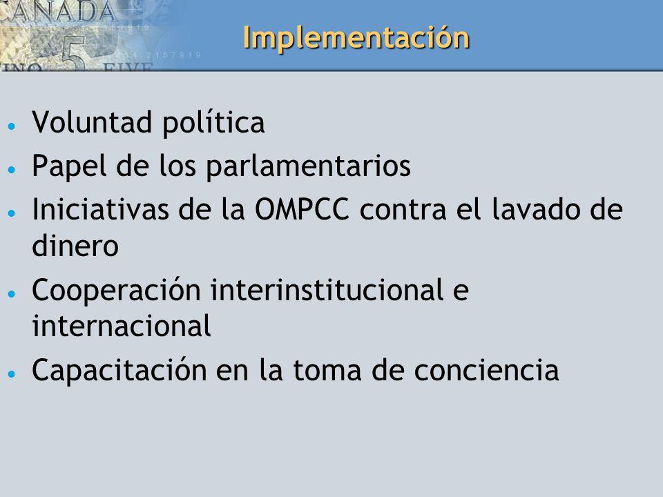 Papel de los parlamentarios