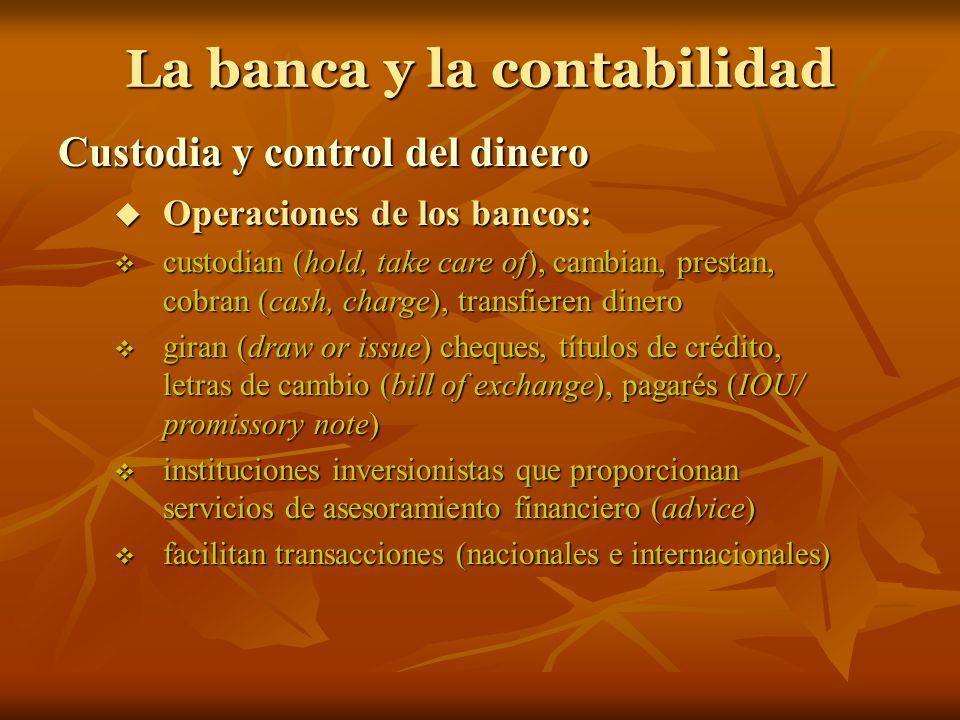 La banca y la contabilidad