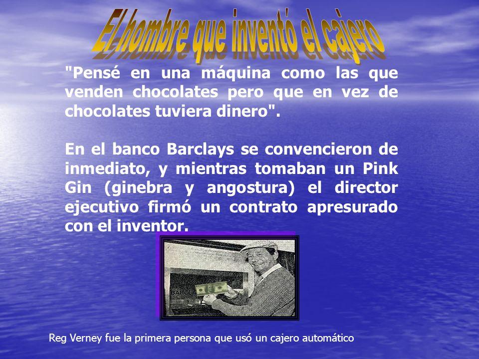 El hombre que inventó el cajero