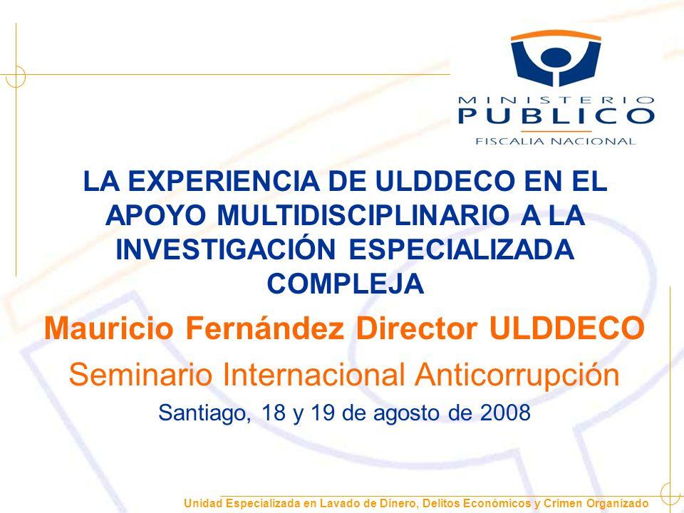 Mauricio Fernández Director ULDDECO
