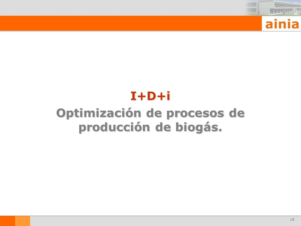 Optimización de procesos de producción de biogás.