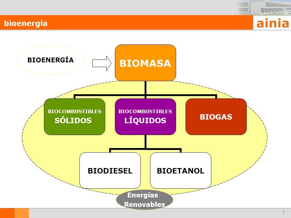 bioenergía BIOENERGÍA Energías Renovables