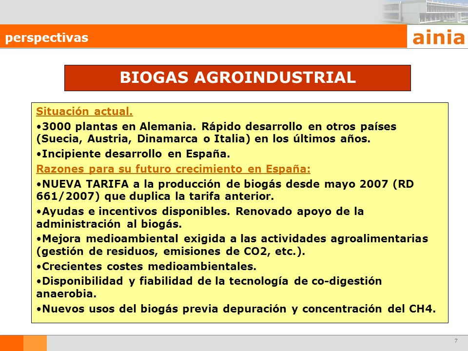 BIOGAS AGROINDUSTRIAL