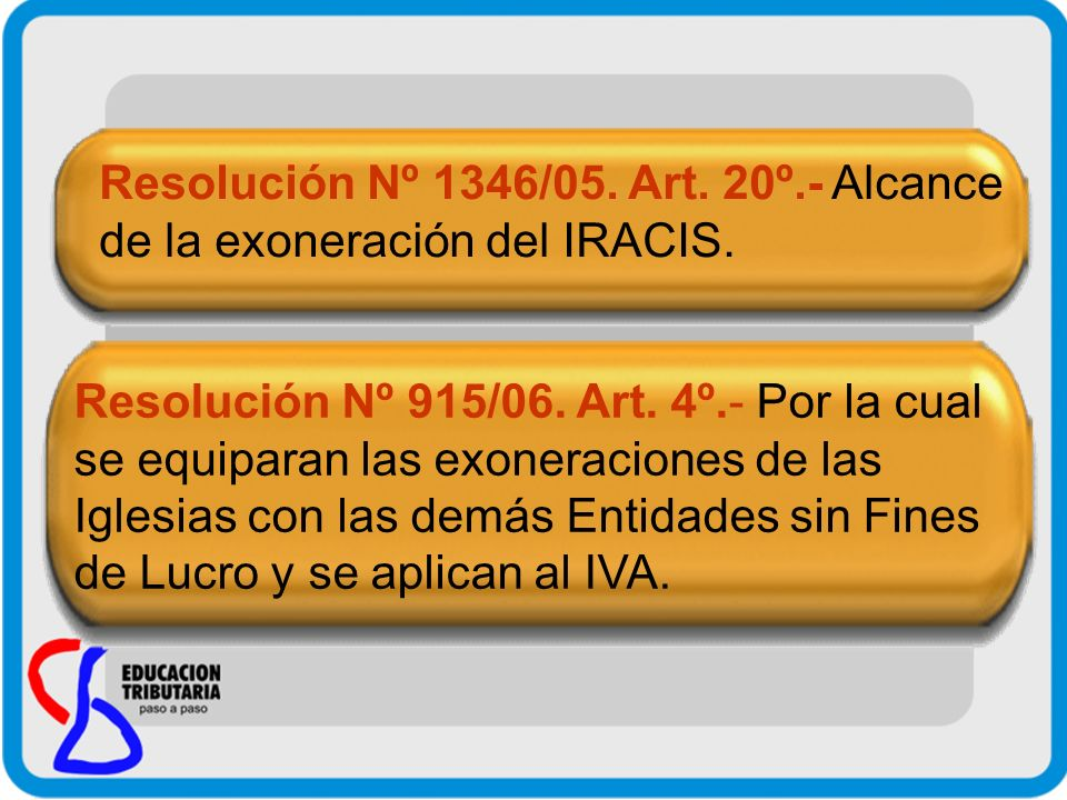 Resolución Nº 1346/05. Art. 20º.- Alcance