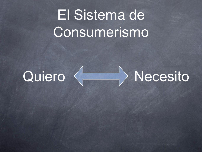 El Sistema de Consumerismo
