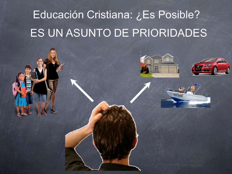 Educación Cristiana: ¿Es Posible