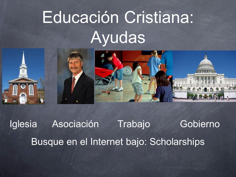 Educación Cristiana: Ayudas